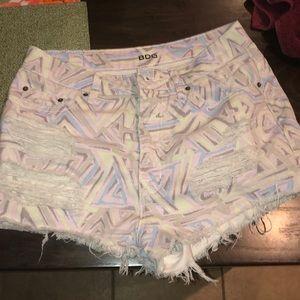 ❌ 3/$20 BDG High Rise DREE cheeky shorts!  28